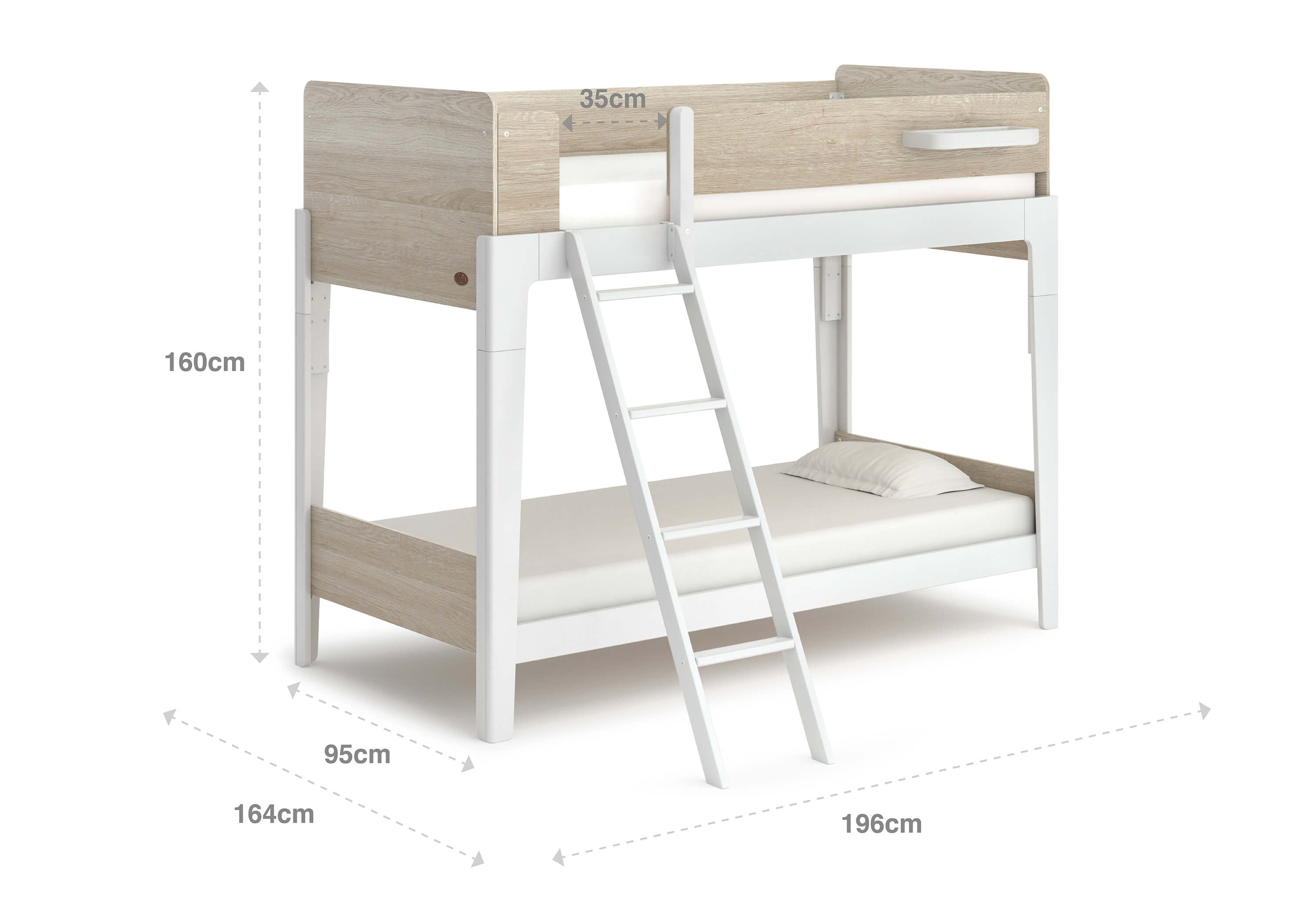 Boori Natty Single Bunk Bed