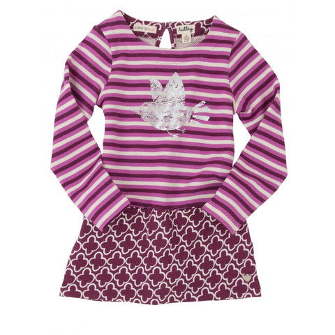 Hatley Silver Bird Design Dress