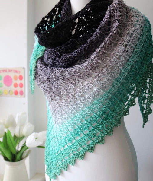 PDF After Eight Shawl Pattern