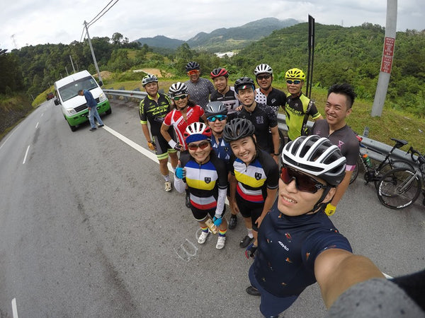 Velo Club Roadtrip 2017 KL Lekas Highway Climb