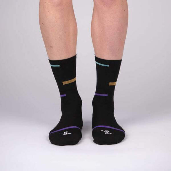 Black Laser PLTN Socks