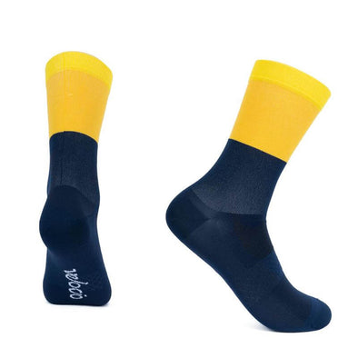 Gold Yellow Tricolor Signature Socks