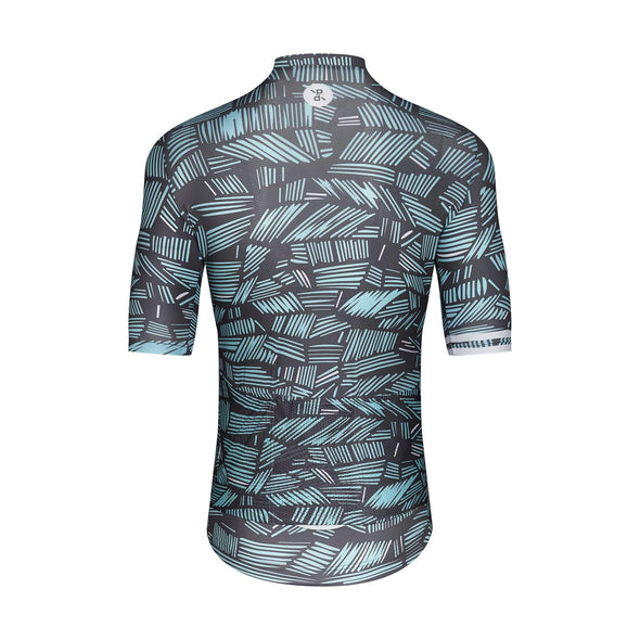 Grey Scribble Sprinteur Men's Jersey