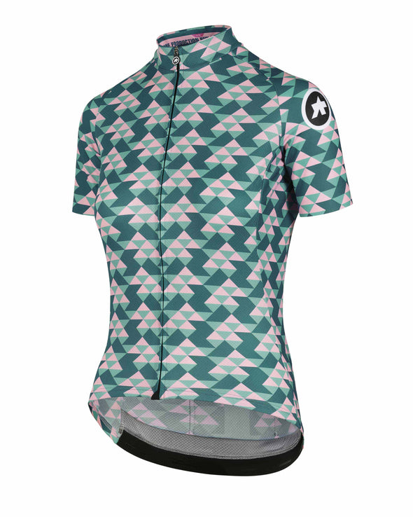 Brilliant Green Diamond Crazy Women's Jersey
