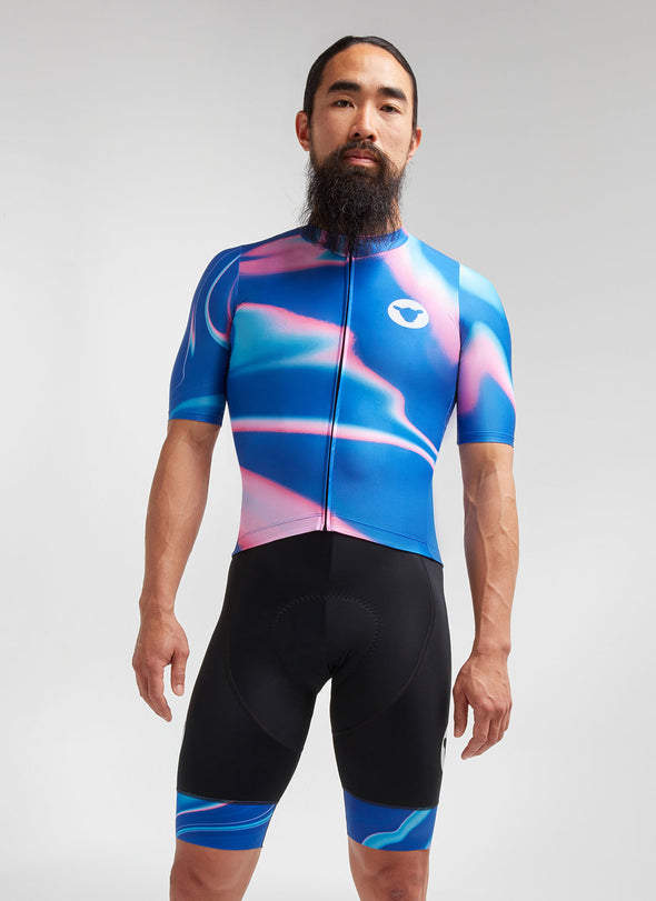 Azure Synth Essentials TEAM LTD Men's Jersey