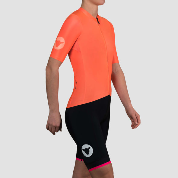 Neon Orange Team Women's Jersey