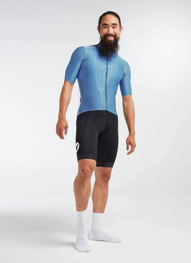 Blue/Vista Moire Essentials TEAM Men's Jersey