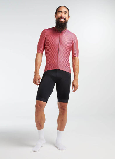 Coral/Purple Moire Essentials TEAM Men's Jersey