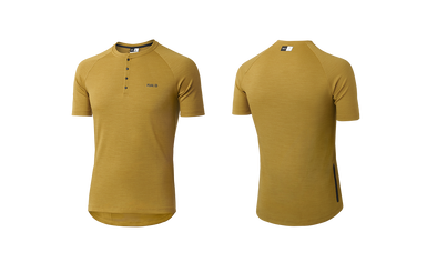 Mustard Jary All-Road Merino Men's Jersey