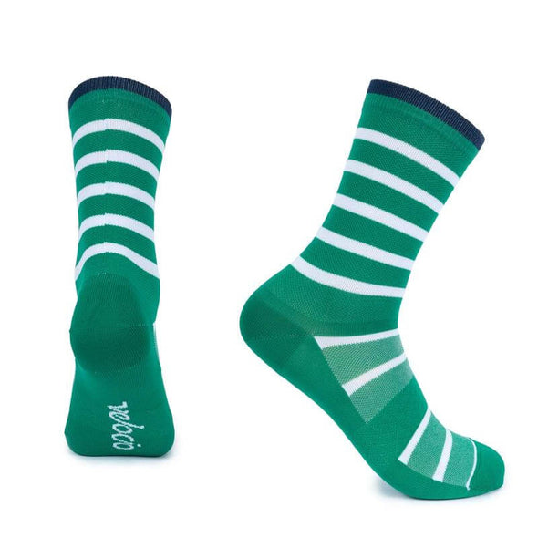 Green Breton Signature Socks
