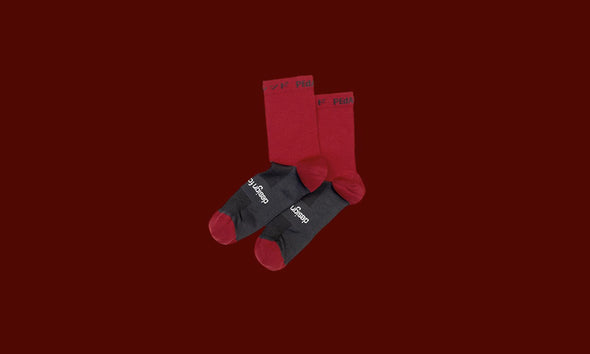 Red Pro Socks Plain