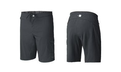 Charcoal Grey Jary All-Road Men's Shorts