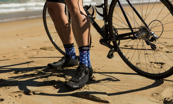 Blue Dario Socks Dot