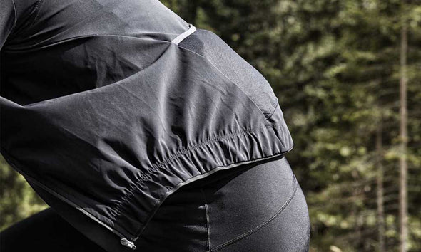 Black Nachi Waterproof Jacket