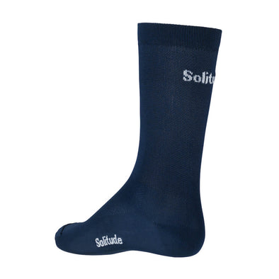 Navy Solitude Socks
