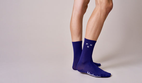 Purple PNS Logo Socks