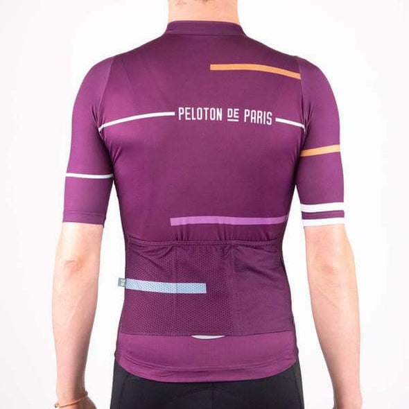 Deep Purple Laser Sprinteur Men's Jersey
