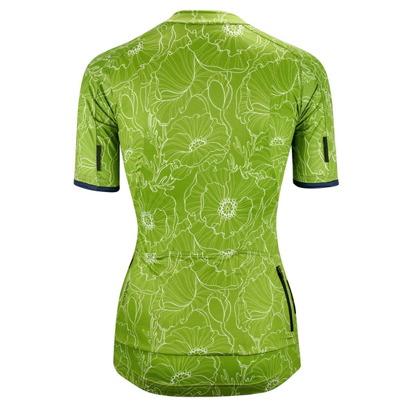 Green Floral SE Women's Jersey