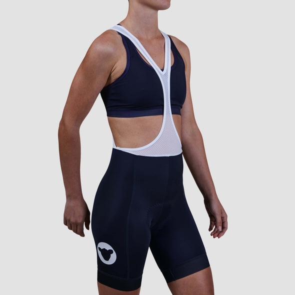 Navy Short Essentials Team Women's Bib