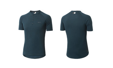 Teal Jary All-Road Merino Men's Jersey