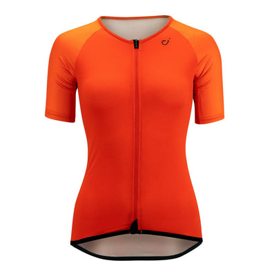 Fire Red Radiator Mesh Women's Jersey