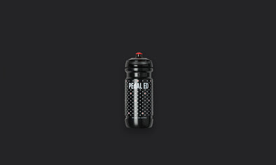 Mizu Water Bottle Black Dots 600ml