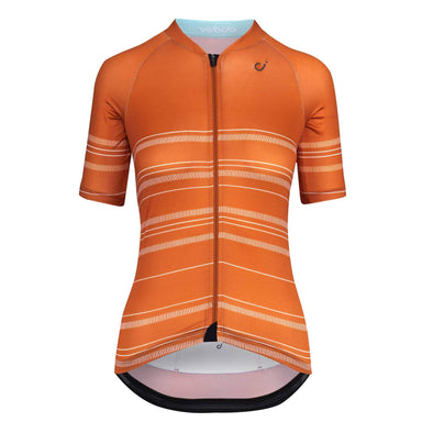 Burnt Orange Harvest Ultralight Women's Jersey
