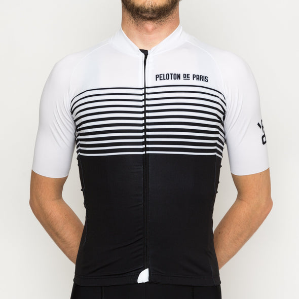 Black Linear Domestique Men's Jersey