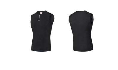Black Merino Baselayer Sleeveless