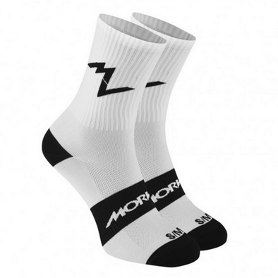 Series Emblem White Sock