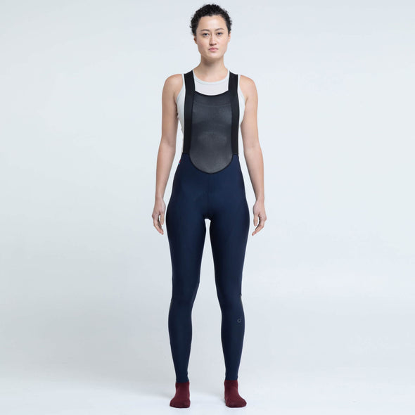 Navy Luxe Women's Bib Tight
