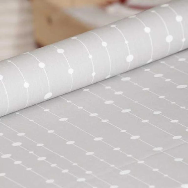 Acrylic Coated Tablecloth, Pearl Grey - Zouf.biz