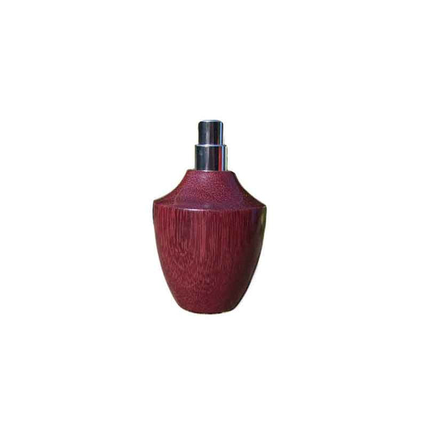 Amaranth Wood Square Travel Spray Refillable Holder - Zouf.biz
