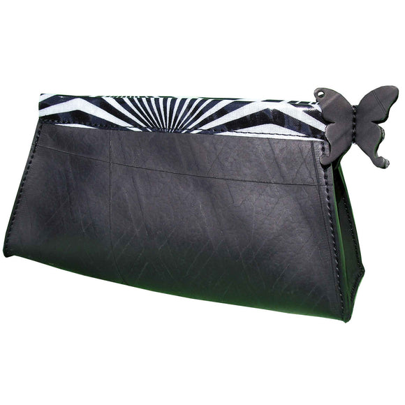 Recycled Tyre Inner Tube Bag La Grisette White France