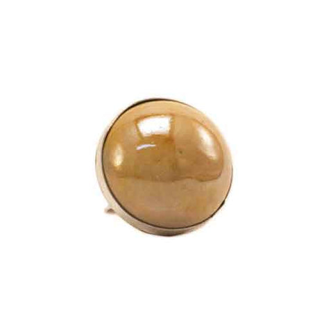 Gold Bulle Ring - Zouf.biz