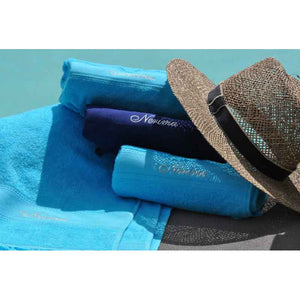 Cap-Ferret Turquoise 100% Cotton Beach Towel - Zouf.biz
