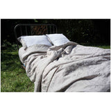 Sable 100% Linen Duvet Cover