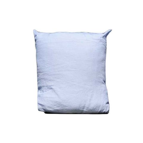 Blue 100% Linen Pillow Case made in France