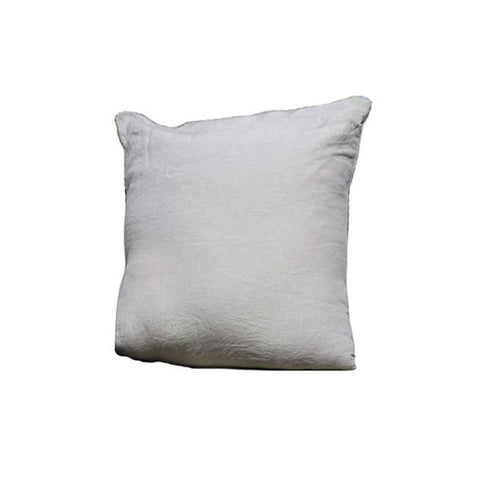 Sand 100% Linen Pillow Case made in France