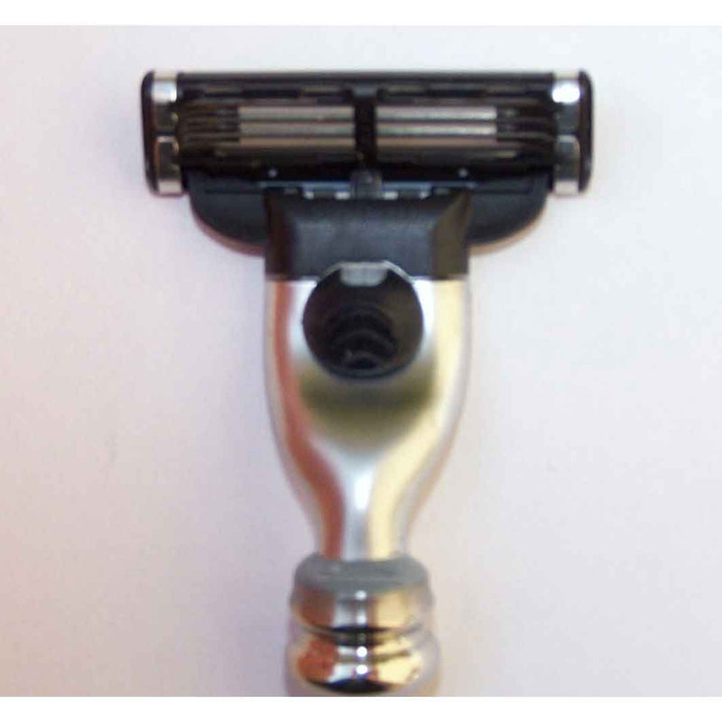 Ebony Wood Razor, Gillette Blade Options - Zouf.biz