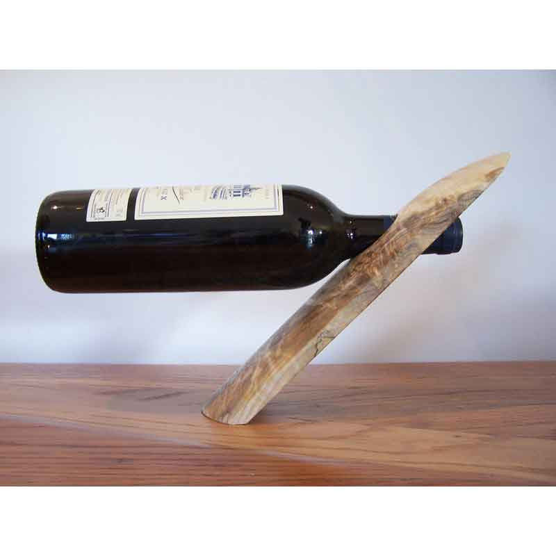 Beech Wood Bottle Holder - Zouf.biz
