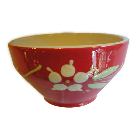 Flower Breakfast Bowl - Red - Zouf.biz