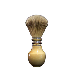 Pure Silver Tip Badger Shaving Brush Boxwood - Zouf.biz