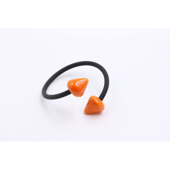Orange Conic PVC Bracelet - Zouf.biz