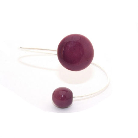 Plum Moon Ceramic Bracelet