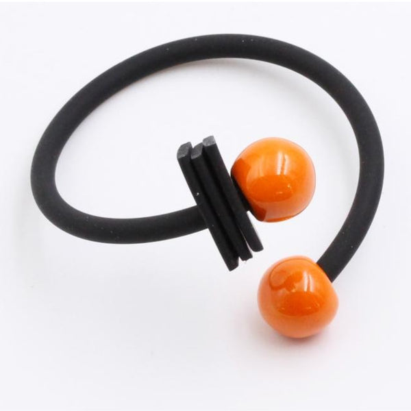 Orange Tribal Ceramic Bracelet - Zouf.biz