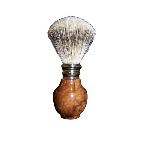 Best Badger Shaving Brush Burr Elm Wood - Zouf.biz