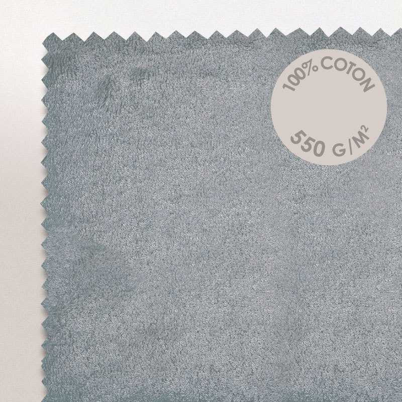 Cap-Ferret Silver 100% Cotton Bath Mat - Zouf.biz