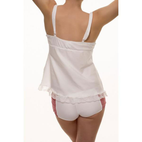Cherry Camisole & Shorty Set, Organic Cotton - Zouf.biz