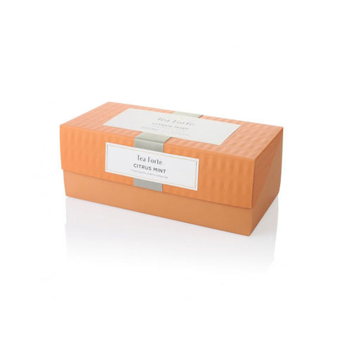 Organic Citrus Mint Tea Presentation Box - Zouf.biz